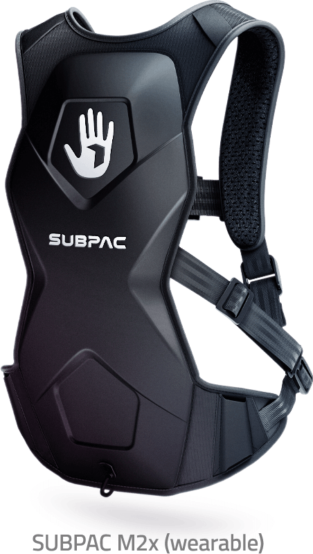 SUBPAC M2x Wearable