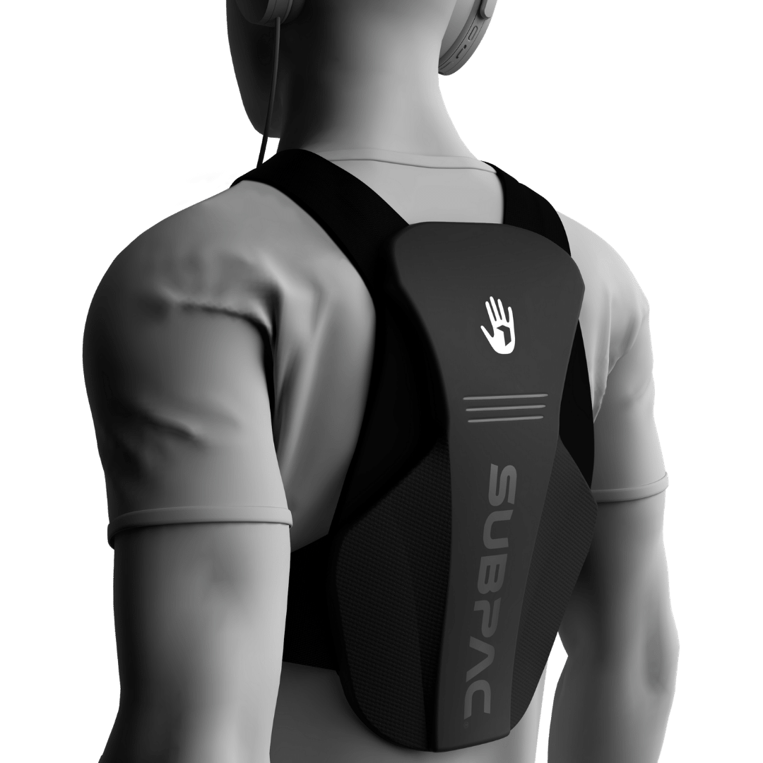 SUBPAC X1-wearable